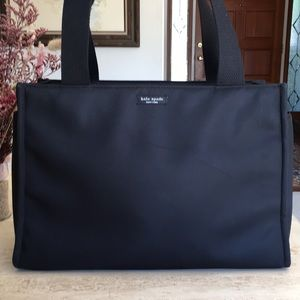 kate spade Bags - 🌹KATE SPADE New York Structured Black Fabric Tote